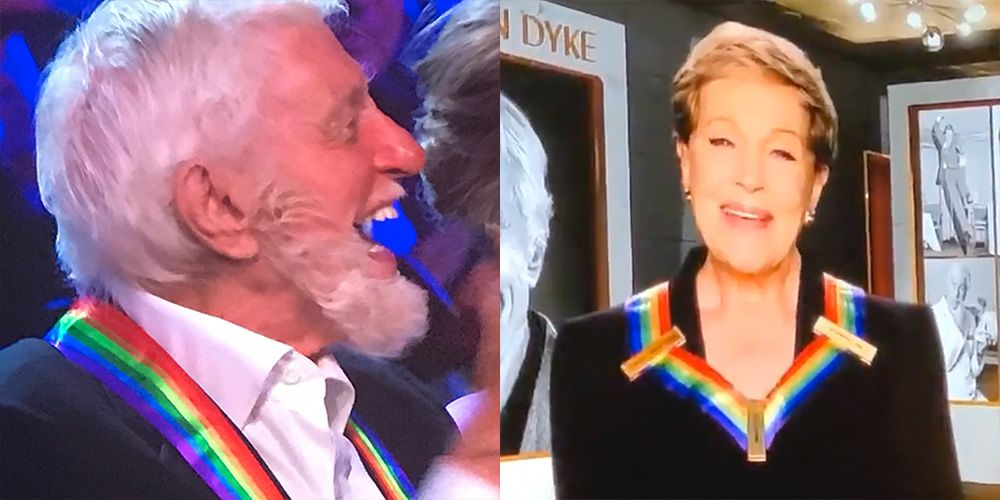 Fans React to Julie Andrews's Kennedy Center Honors Tribute to Dick Van Dyke