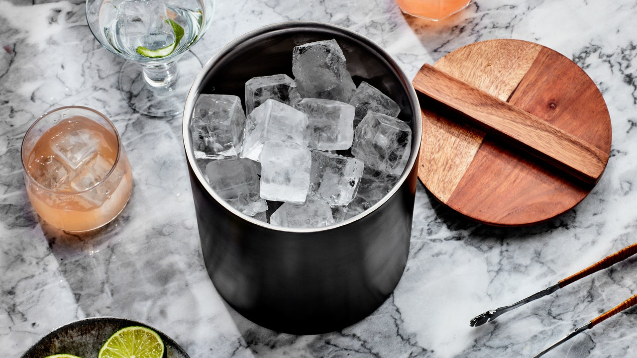 This Summer, Keep Your Ice Within Arm's Reach With a Classy Ice Bucket