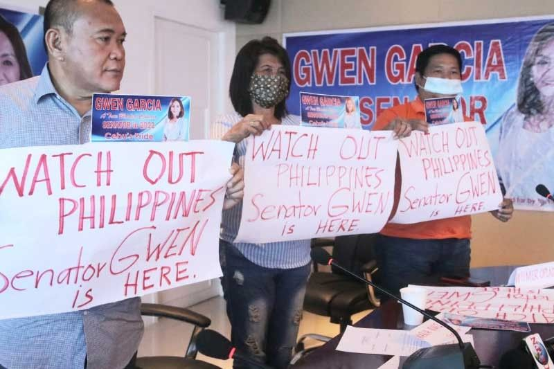 'Gwen for Senator Movement' not giving up; Gwen says 'no' anew