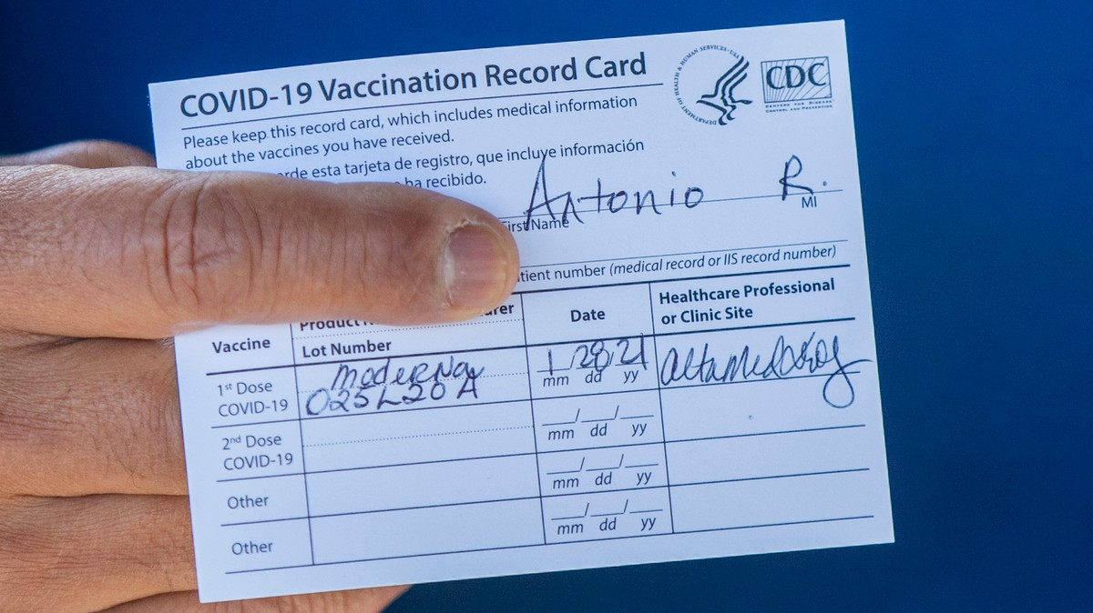 People Explain Why They Want to Buy Fake Vaccine Cards