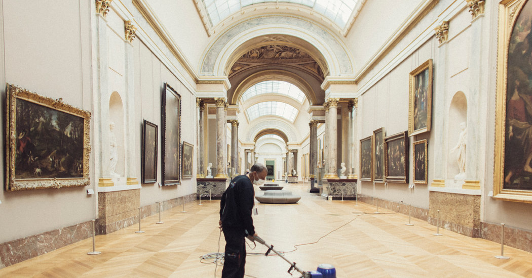When the Louvre Reopens, It's Going to Be Quiet