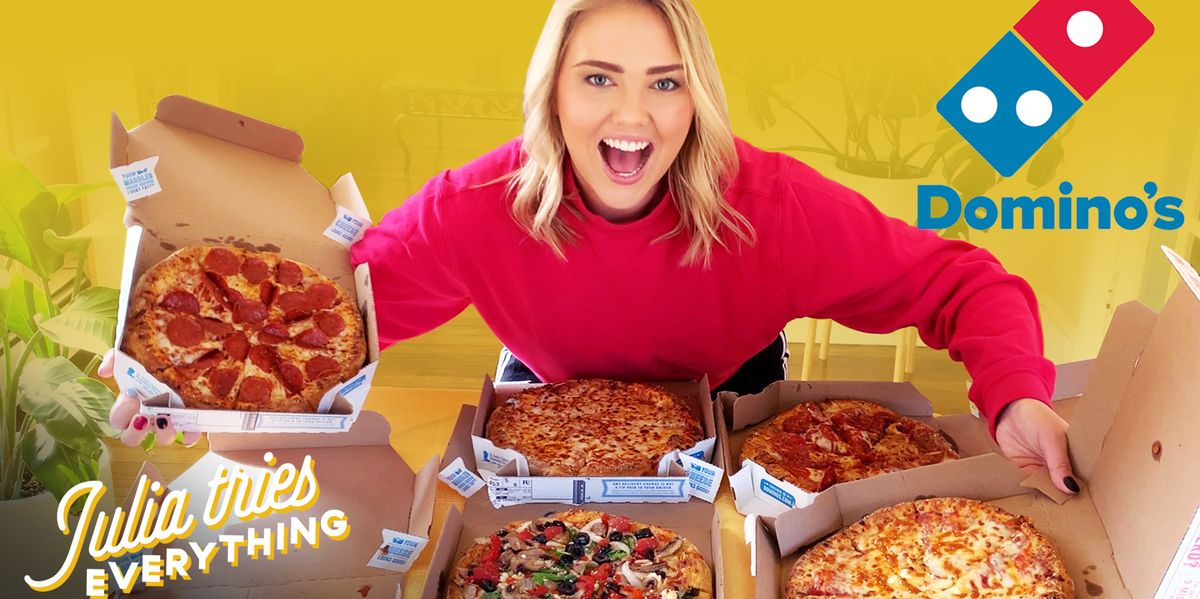 I Tried Everything From Domino's Pizza—This Is What's Worth Your Money