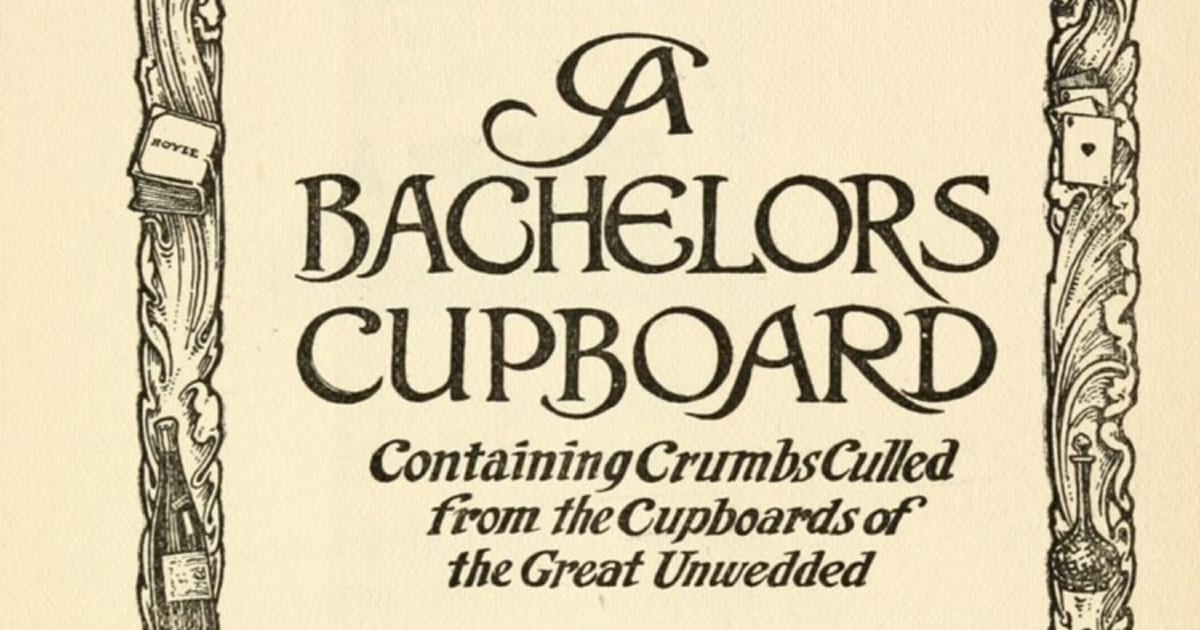 You Can Now Access Thousands of Rare, Vintage Cookbooks Online