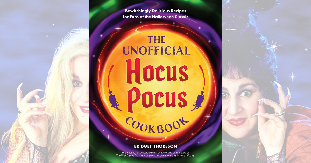 The Unofficial Hocus Pocus Hardcover Cookbook Just $15.99 on Amazon (Regularly $20)
