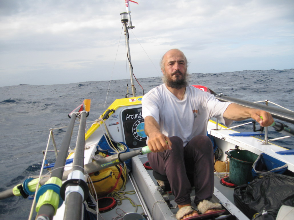 We Ask Erden Eruç Why He's Rowing Around The World Again (And Climbing Everest)