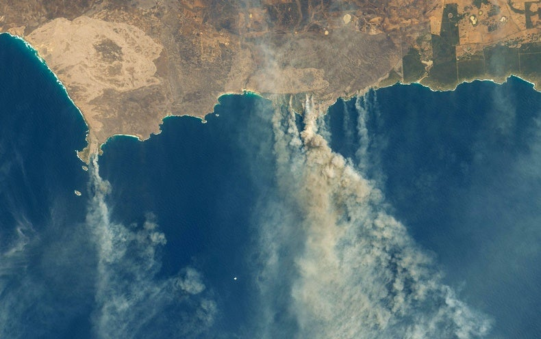 Wildfires Blast Smoke Corkscrews to the Top of the Atmosphere