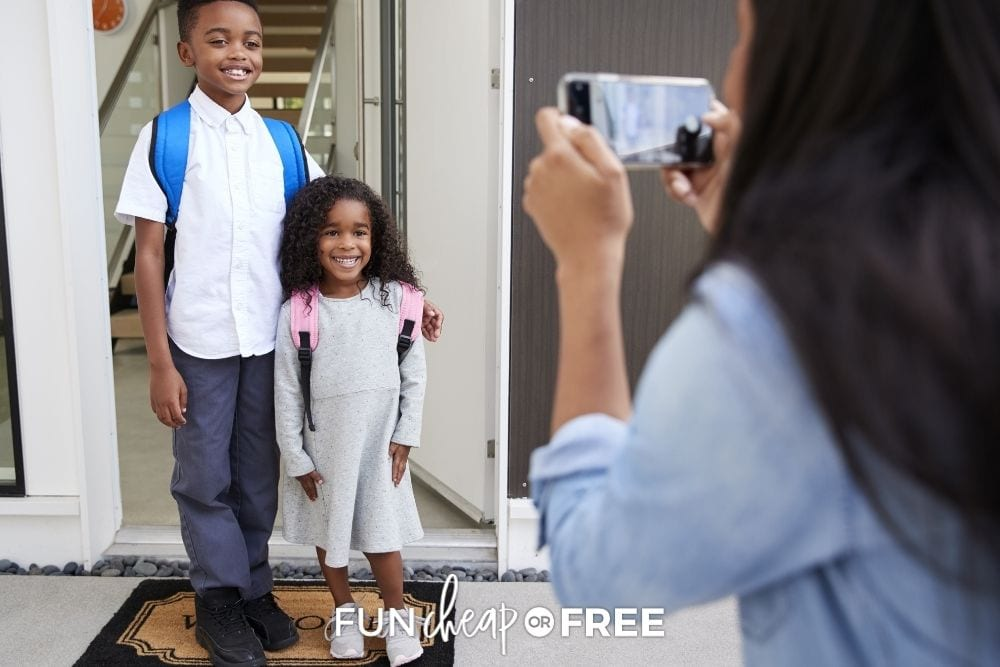 First Day of School Traditions & Special Memories!