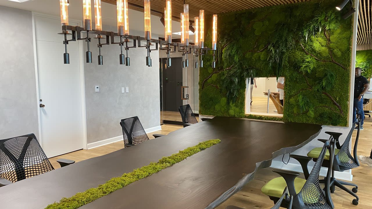 """The co-working space that does \""""wellness\"""" as well as WiFi"""