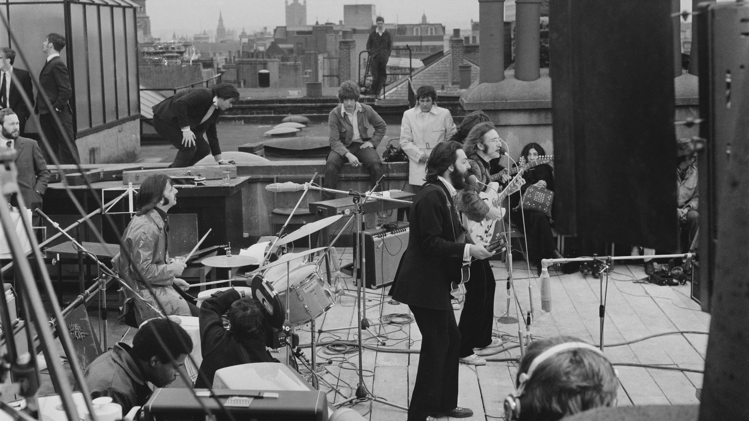 10 Facts About The Beatles's 1969 Rooftop Concert