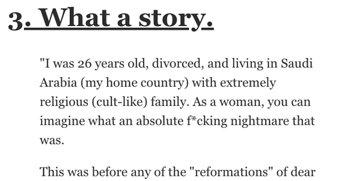 People Tell Their Stories About Leaving Their Lives Behind and Starting Completely New Ones