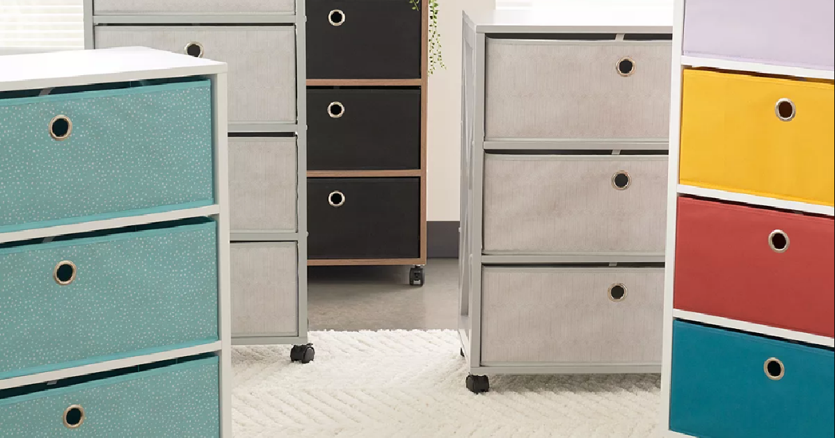 The Big One Storage Carts from $35.99 on Kohl's.com + Free Shipping for Select Cardholders