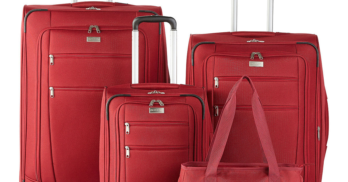 Highly-Rated Spinner Luggage ALL Sizes Only $59.99 on JCPenney.com