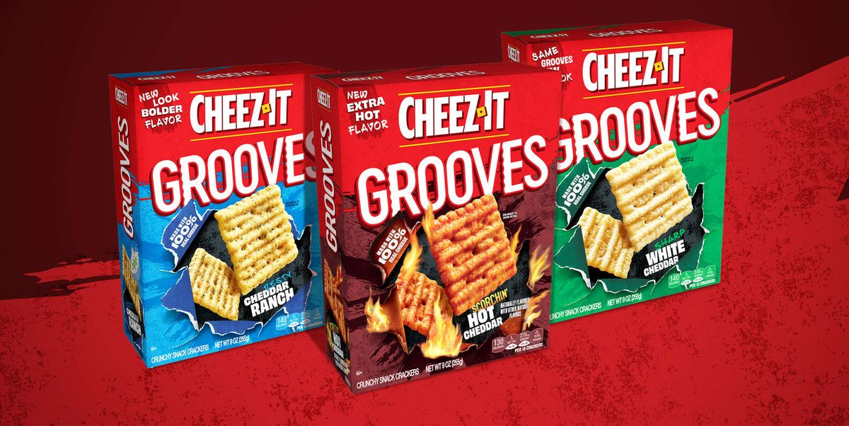 You Can Win A Year Supply of Cheez-It Grooves And We Know How To Get Them