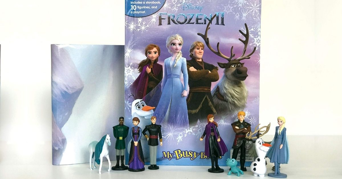Disney Frozen 2 My Busy Books Only $7.50 on Amazon (Regularly $13)