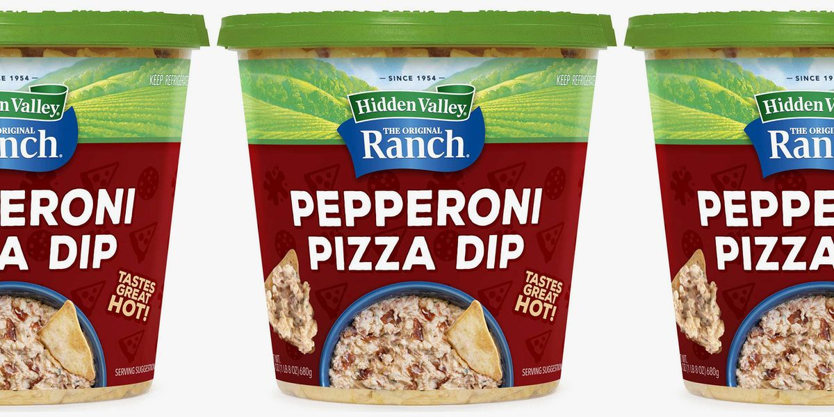 You Can Get A 1.5-Pound Tub Of Hidden Valley Ranch Pepperoni Pizza Dip