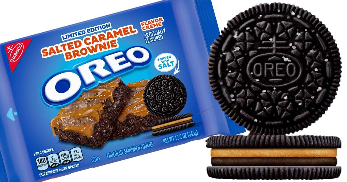 Nabisco Just Released the New Limited Edition Salted Caramel Brownie Oreo