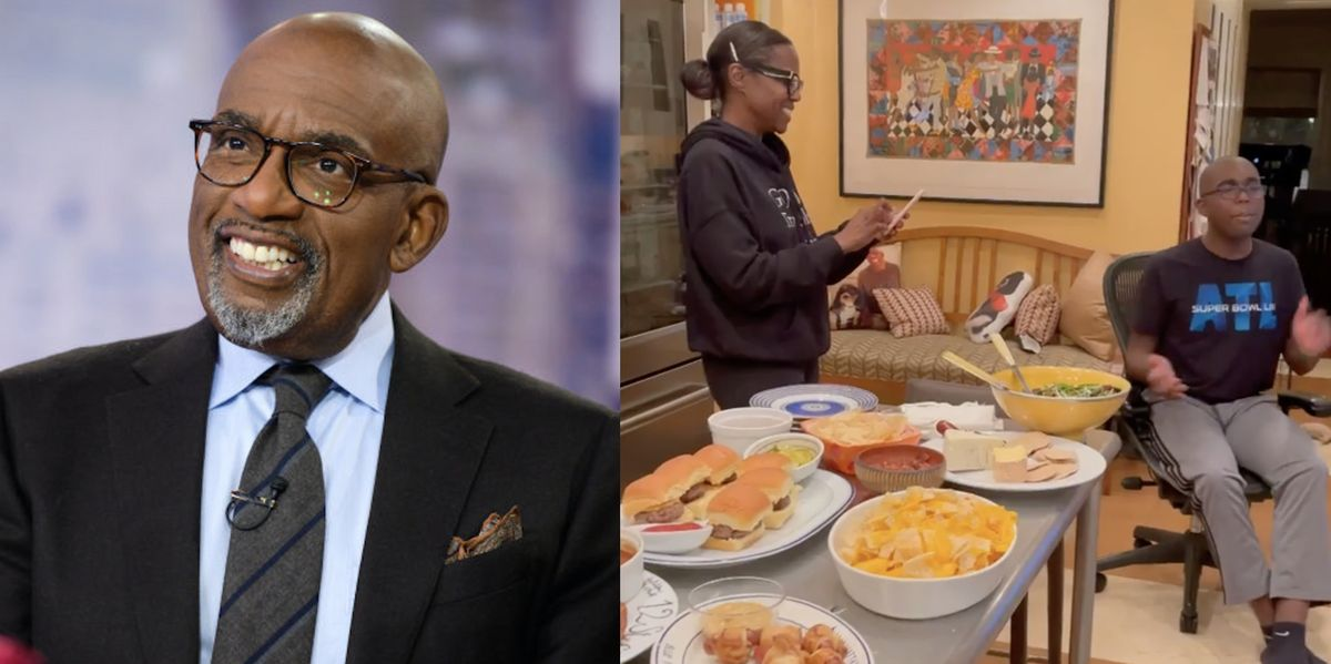 'Today' Show Fans React to Al Roker's Instagram of His Super Bowl Night With Wife and Son