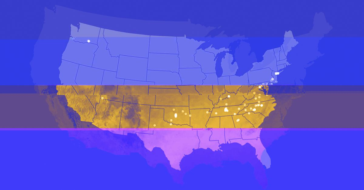 Climate change: see how much warmer winters in US cities could be by 2050