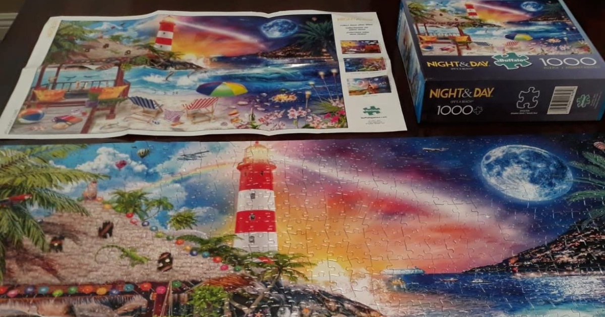 Buffalo Games 1,000 Piece Puzzles Only $7.49 on Amazon (Regularly $15)