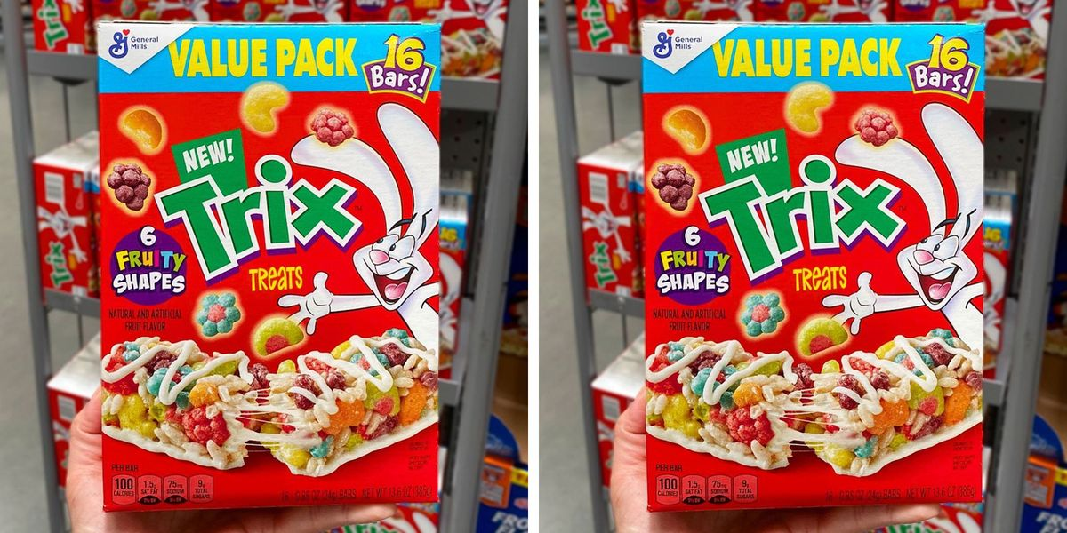 The New Trix Cereal Bars Make You Feel Like a Kid