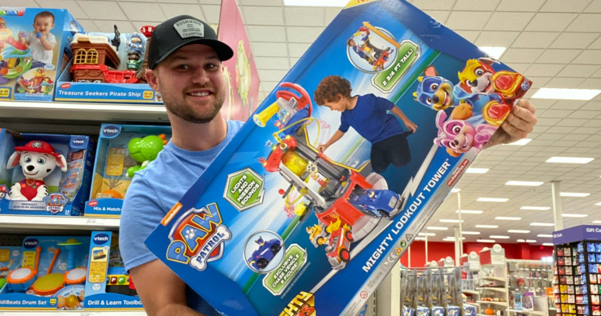 Paw Patrol Super Mighty Pups Lookout Tower Just $53 Shipped on Target.com (Regularly $88)