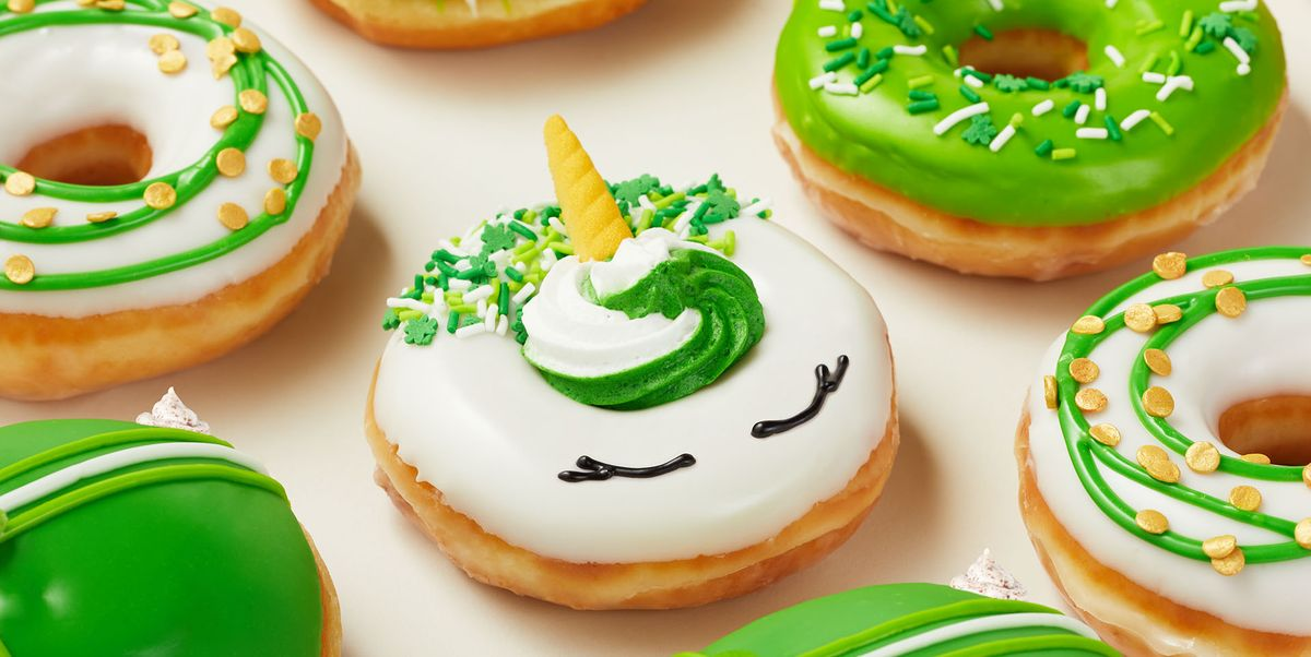 Krispy Kreme Is Releasing 4 New Donuts For St. Patrick's Day