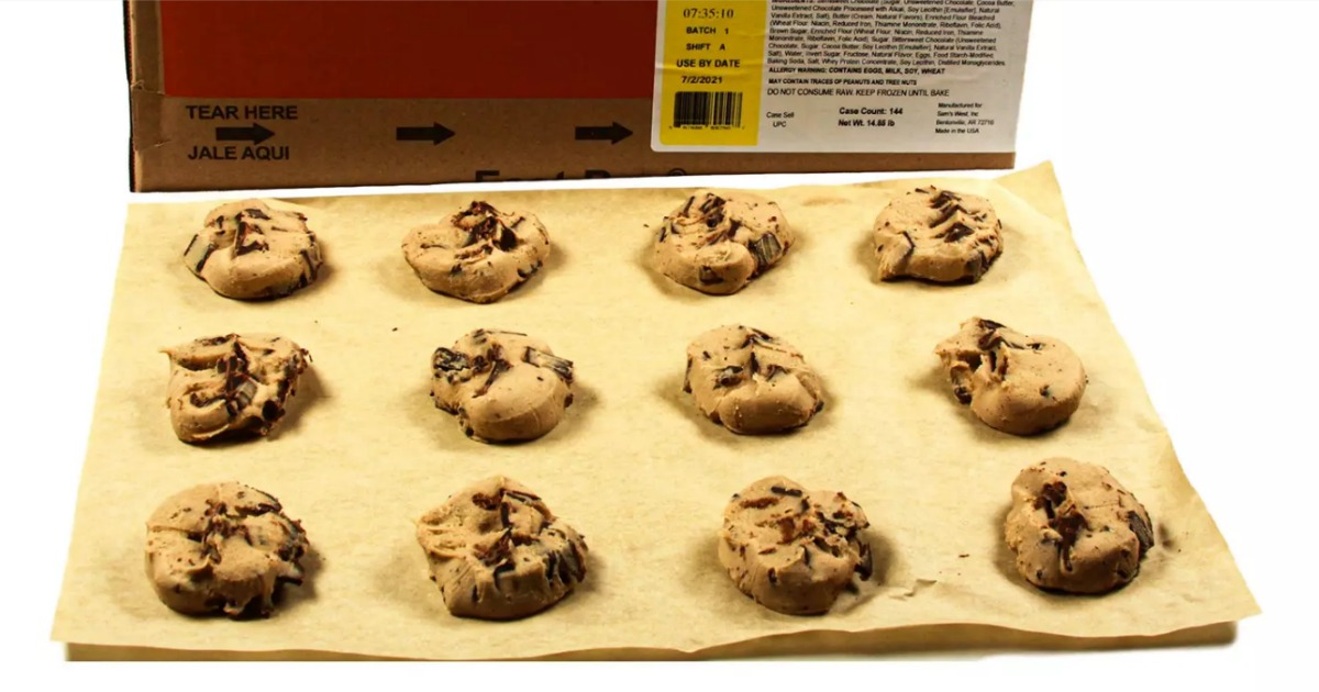 These Huge Cases of Sam's Club Ready-to-Bake Frozen Cookie Dough Make Dessert Easy Peasy