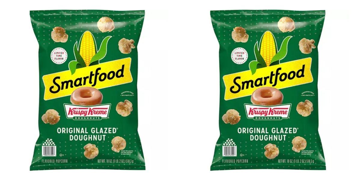 Krispy Kreme Popcorn Exists, And It Sounds Magical