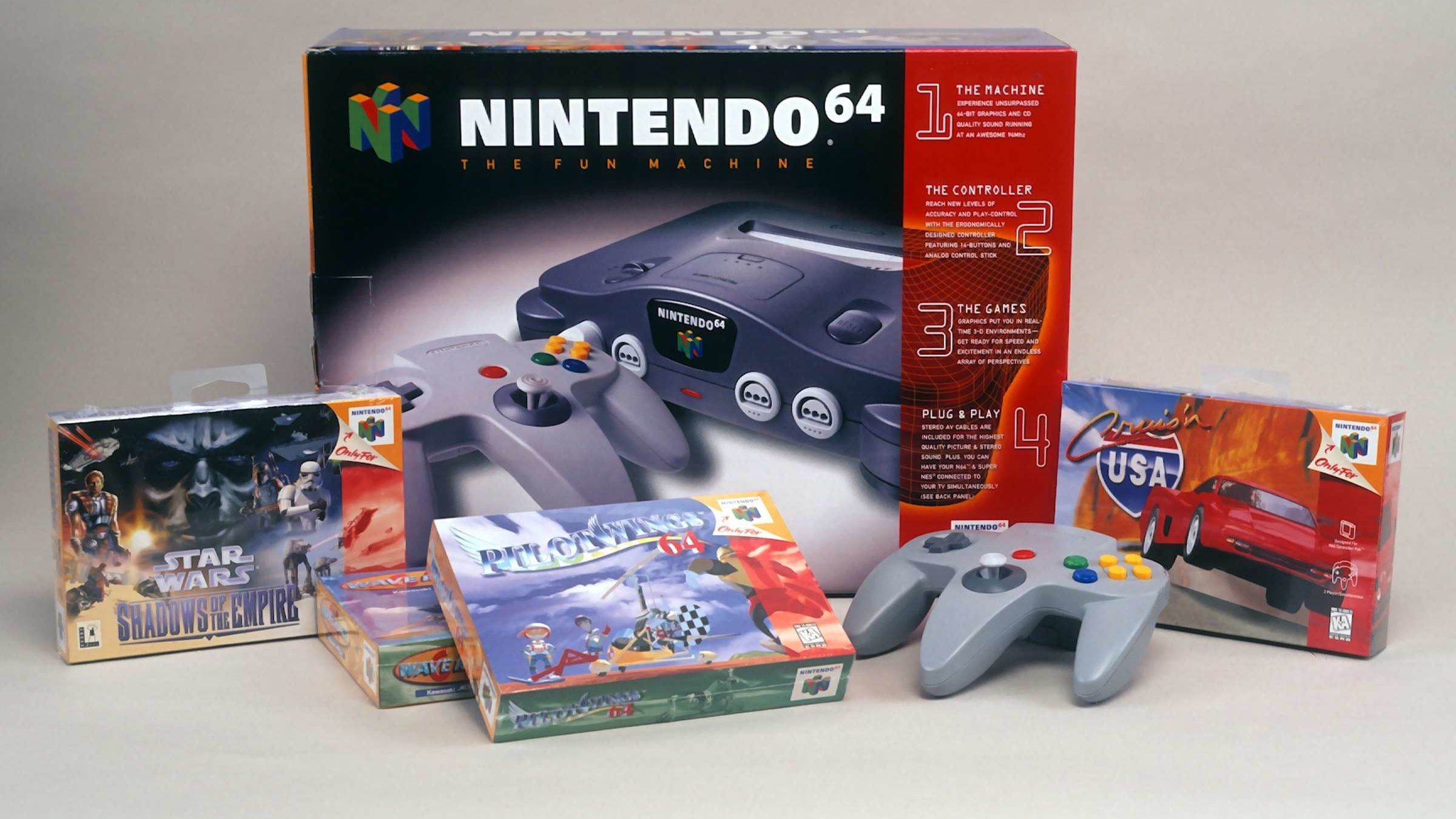 10 Game-Changing Facts About the Nintendo 64