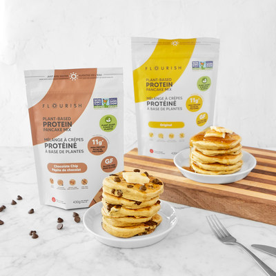 Flourish Pancakes Launches Highly Anticipated Plant-Based Mixes