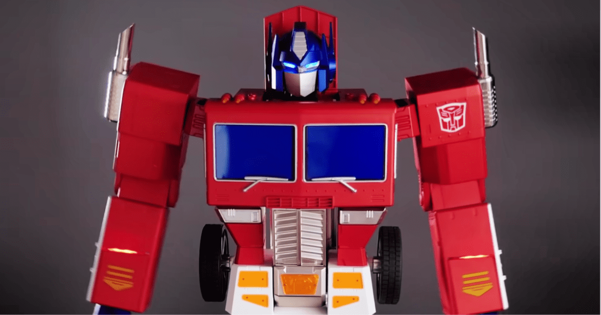 You Can Own a Self-Transforming Optimus Prime Toy for $700