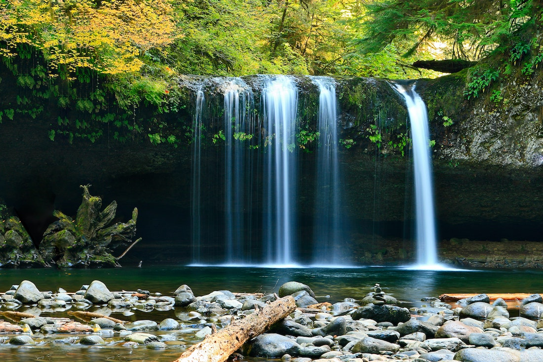 Can Simply Standing Near a Waterfall Make You Happy?