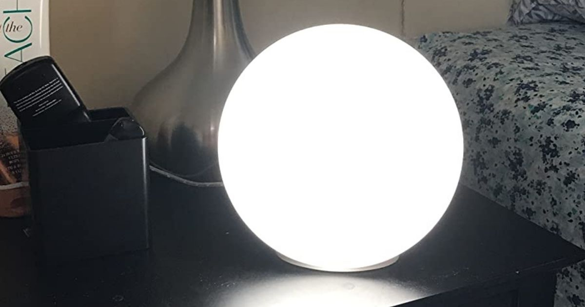 Highly Rated Light Therapy Lamp Only $21.99 Shipped on Amazon