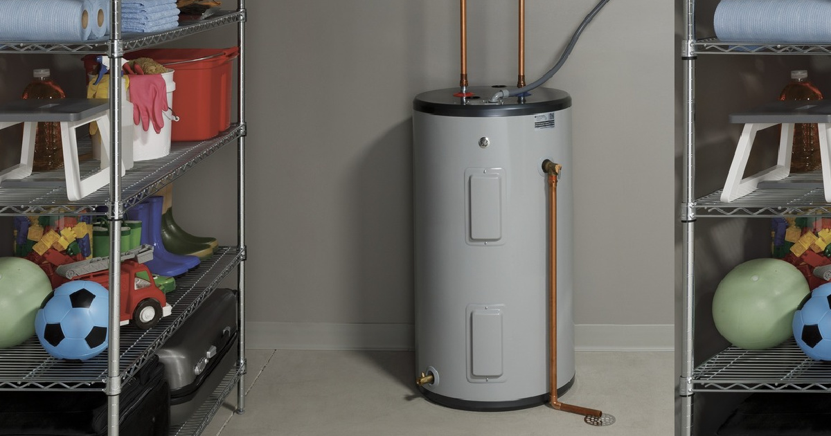 GE 30-Gallon Electric Water Heater Just $149.97 Shipped for Costco Members