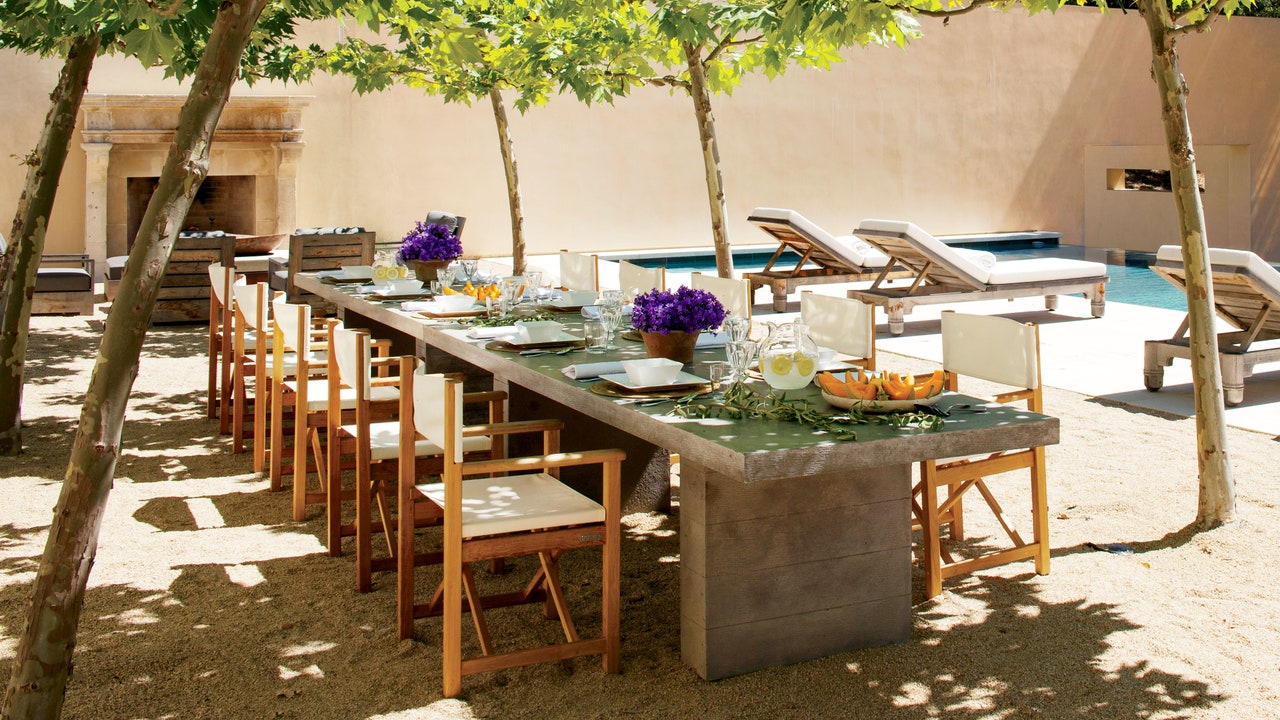 The Best Outdoor Dining Tables for Every Space