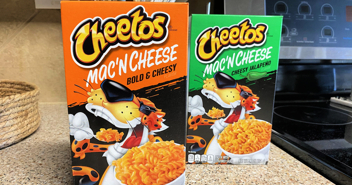 Cheetos Mac 'N Cheese 12-Count Variety Pack Only $8.86 on Amazon (Just 74¢ Per Box)