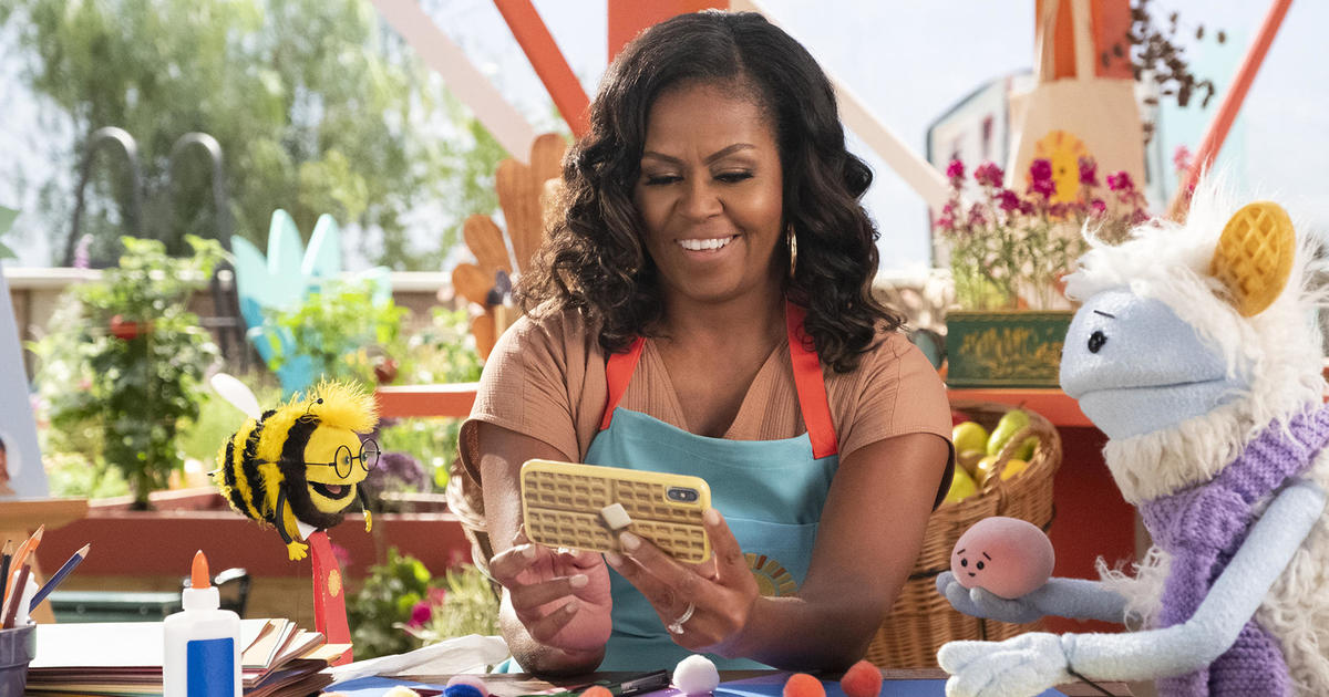 """Michelle Obama on her Netflix show and new healthy food initiative: \""""There's still plenty of time to do some good\"""""""
