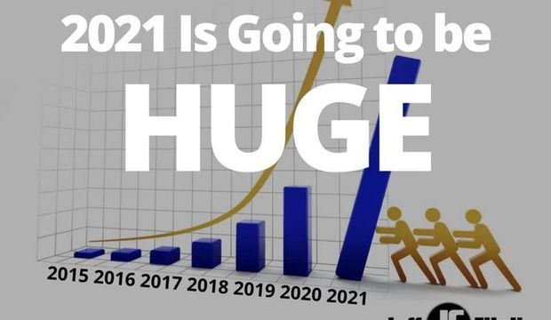 IMO, 2021 is going to be HUGE...for those who are prepared!!