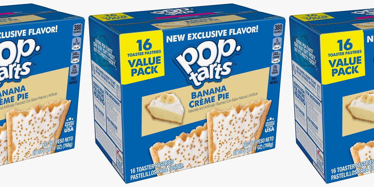Pop-Tarts Is Adding A Banana Crème Pie Flavor To Its Summer Lineup