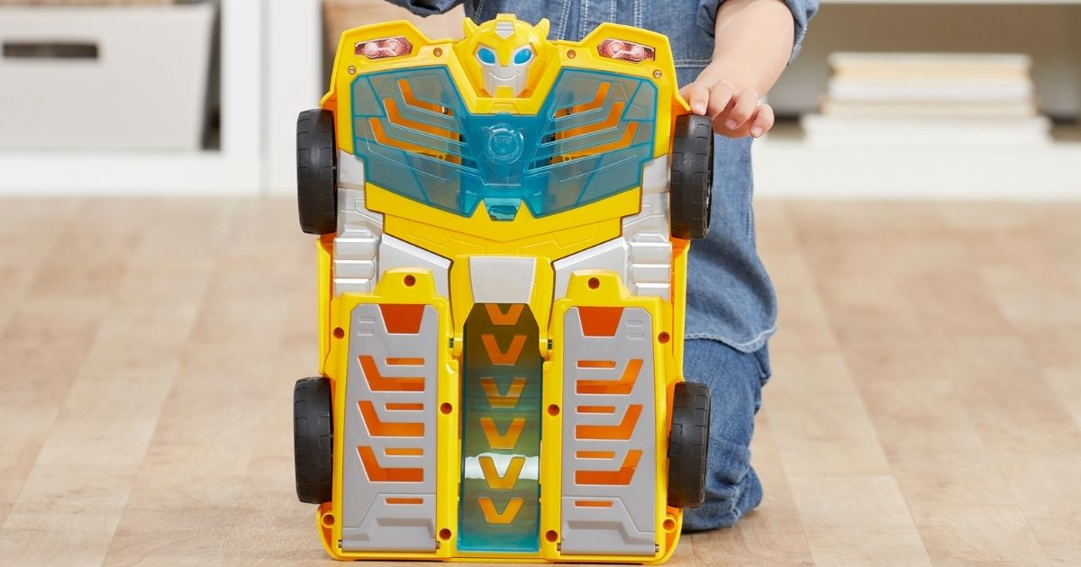 Transformers Playskool Heroes Rescue Bots Bumblebee Playset Only $16 on Amazon (Regularly $30)