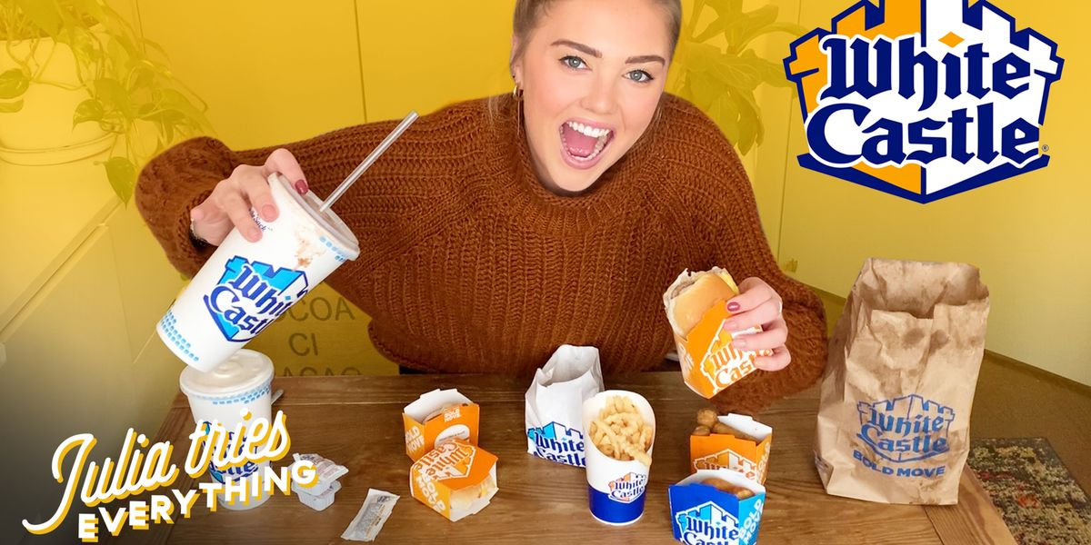 I Tried Everything From White Castle—This Is What's Worth Your Money