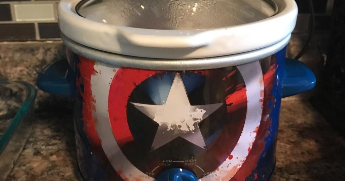Marvel & Disney Slow Cookers from $9 on Amazon | Captain America, Wonder Woman & More