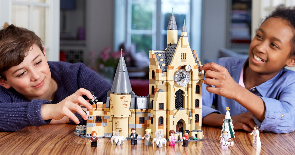 LEGO Harry Potter Hogwarts Clock Tower Set Only $76.99 Shipped on Amazon
