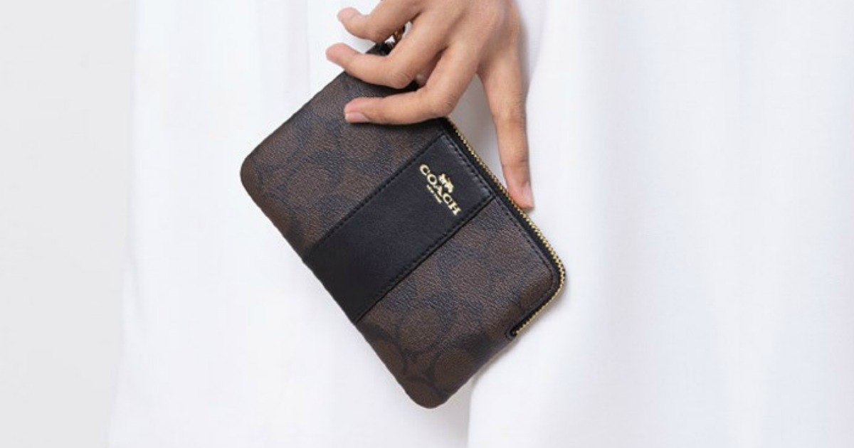 HURRY! Coach Wristlet Only $20 Shipped (Regularly $78)