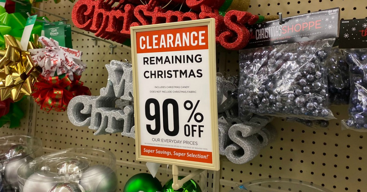 How to Get 90% Off During After Christmas Clearance Sales