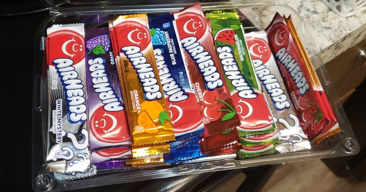Airheads 60-Count Variety Pack Only $6.36 Shipped on Amazon (Regularly $8) + More Candy Deals