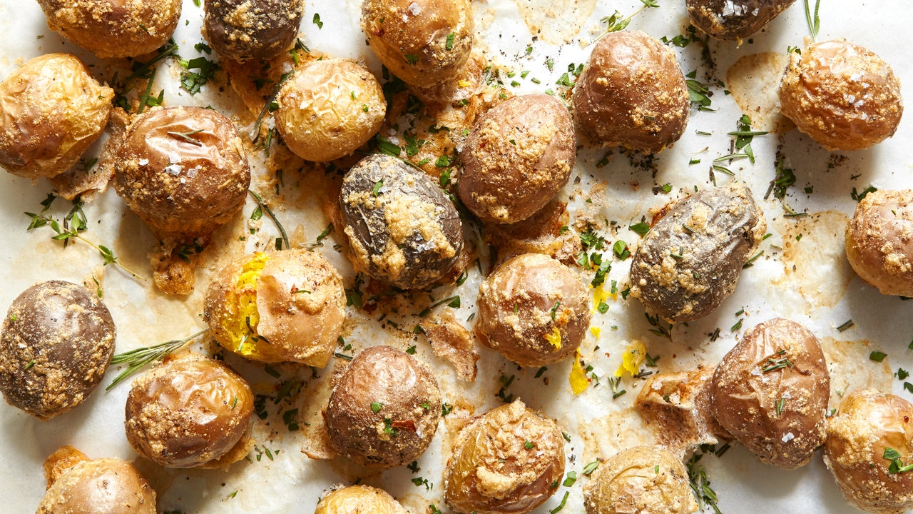 For the Crispiest, Crackliest Roasted Potatoes, You Need Egg Whites