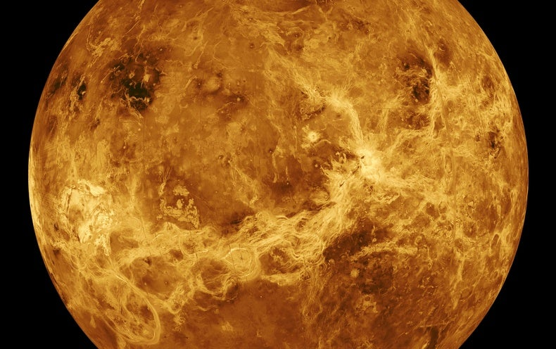Life on Venus Is Impossible because of Lack of Water, Study Suggests