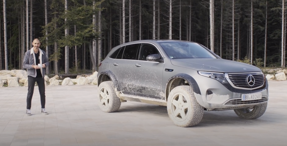 Bring On the Emissions-Free Overlanders, Like The New Mercedes EQC 4x4 EV