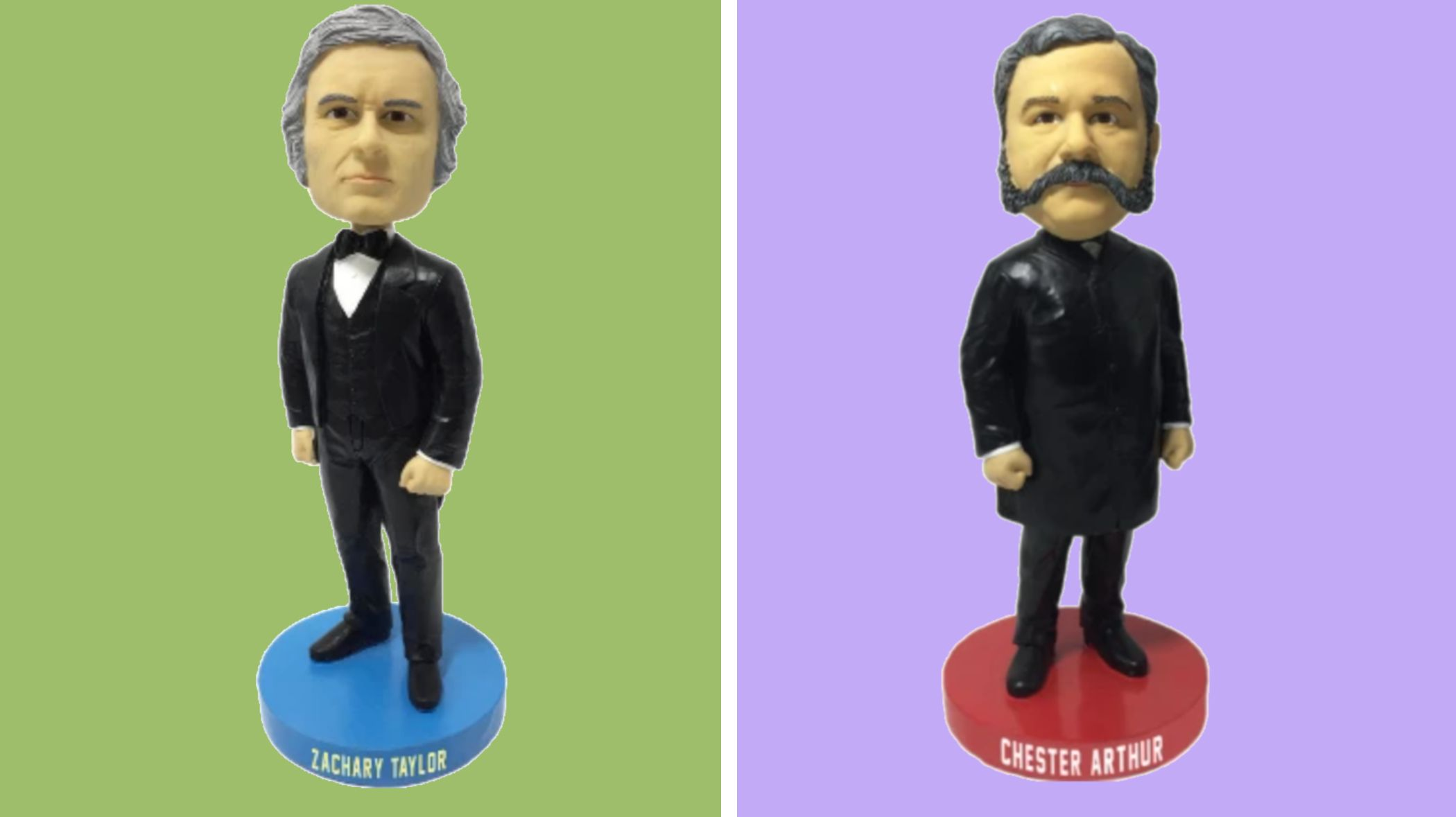 These Neglected Presidents Are Getting the Bobblehead Treatment They so Richly Deserve